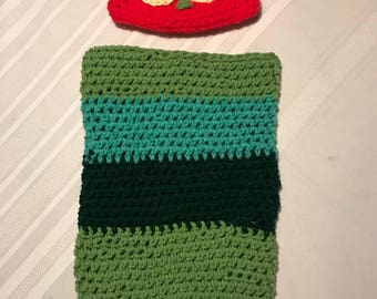 Hungry Caterpillar Inspired Baby Cocoon Photo Prop