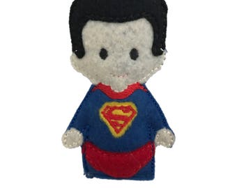 Superman inspired Catnip Toy