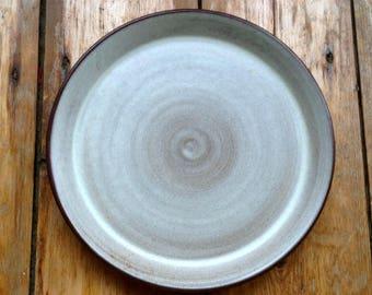French Stoneware Minimalist Plate