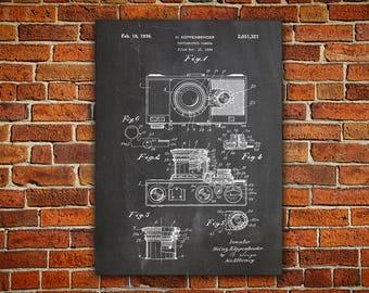 Vintage Camera Canvas painting, Retro Camera,Camera Art Poster,Camera Wall Poster,Camera Patent Poster,Camera Blueprint,Photo Camera Poster