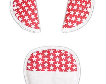 """Protects belt Kit / protects-safety strap """"Star Ruby"""" (baby & child)"""