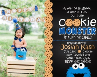 Our Little Cookie Monster is Turning ONE!