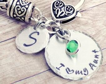 Gift for Aunt, Aunt bracelet gift, Aunt bracelet, Bracelet for Aunt, Gift for Auntie, Aunt jewelry, Jewelry Aunt, I love my Aunt