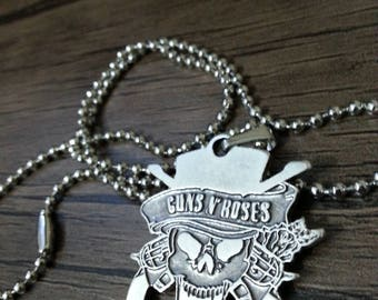 Guns'N RosesNecklace 925 Silver plated