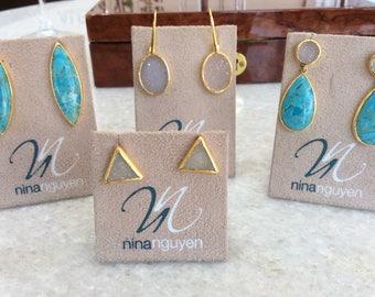 Nina Nguyen Crystal Earrings