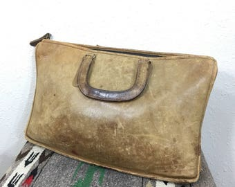80's vintage coach leather tote bag made in usa