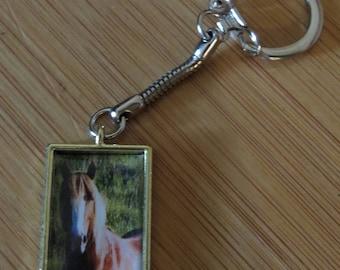 Wild horse key chain