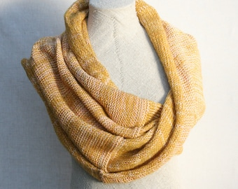 Gold christmas gift / Bridesmaid shawl / Mohair shoulder warmer / Knit oversized scarf / Nursing shawl - Gold