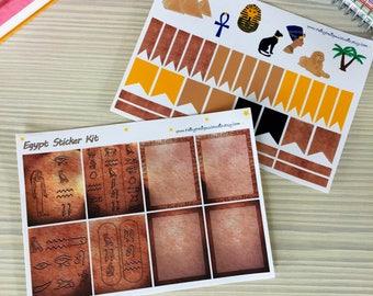 Egypt Planner Sticker Kit