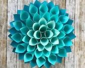 Large Paper Blue Dahlia,B...