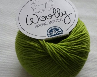 DMC Woolly 100% Merino Wool Superwash 081 Green