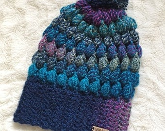 Adult Puff Slouchy Hat