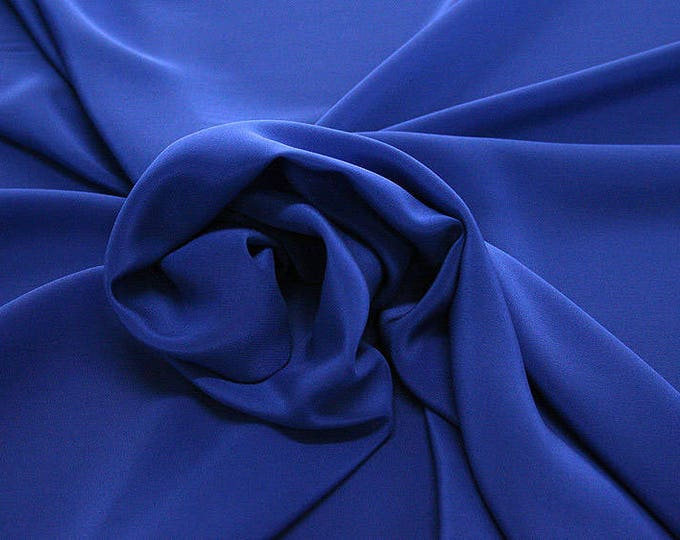 301141-Chinese natural silk crepe 100%, width 135/140 cm, made in Italy, dry cleaning, weight 88 gr