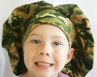 CamORflage Bouffant Style Scrub Hat
