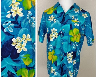 Incredible Vintage Hoaloha of Hawaii Hawaiian Shirt