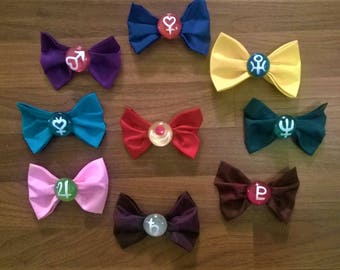 Sailor Moon Inspired Barrettes