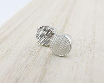 Mini Stud Earrings silver BOFA03047