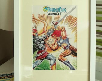 ThunderCats Framed Page from the actual 1987  Annual - Unique Gift - Mancave -  Wall art -  Thundercats Fan