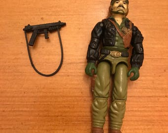 Hasbro GI Joe Heavy Metal Action Figure with Gun Free Shipping!