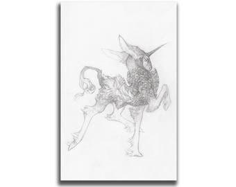 Just Struttin' 5.5 x 8.5 / 8.5 x 11 Art Print