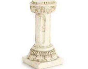 Garden Column Pedestal - miniature enchanted fairy garden