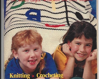 Vintage Workbasket Needlework and Crafts Magazine  Special Anniversary Issue  August/September 1992