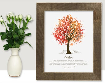 Mothers Day from Son Mother Daughter Gift 78th Birthday Gift for Mom Birthday Gift Personalized Mothers Day Gift For Mothers Day Family Tree