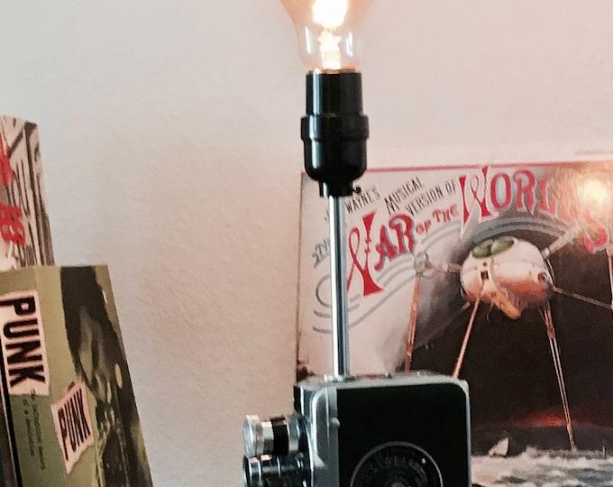 Vintage Movie Camera Lamp