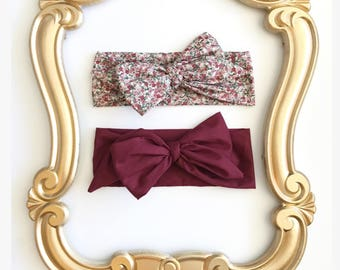 NEW FALL COLLECTION...Head wraps, headbands, bows