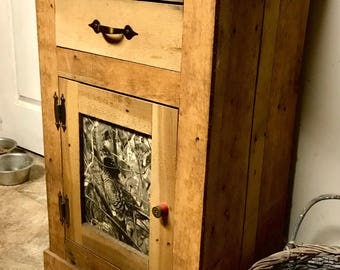 Custom Den Cabinet,Made in Michigan, For the Outdoorsman.