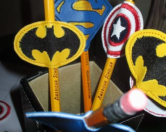 Hero Pencil Toppers