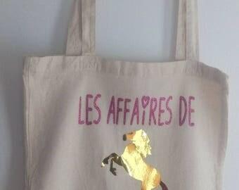 Tote bag, horse tote bag