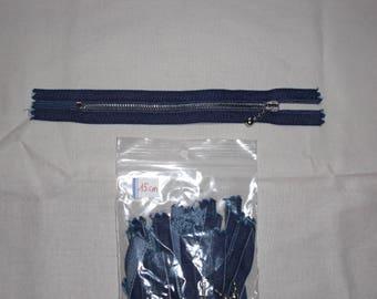 Zip up denim 15 cm