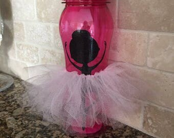 Ballerina Waterbottle with removable tutu