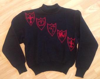 1940s rare Jantzen Ladies Turtleneck Sweater