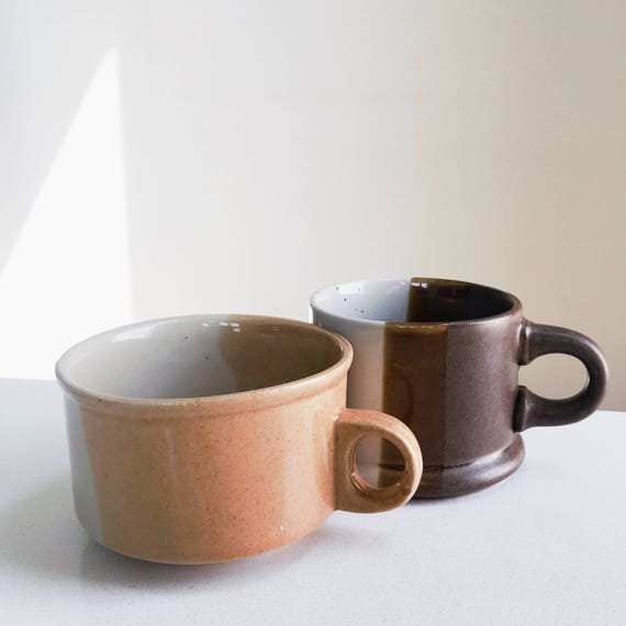 MARS Vintage Coffee/Latte Mugs
