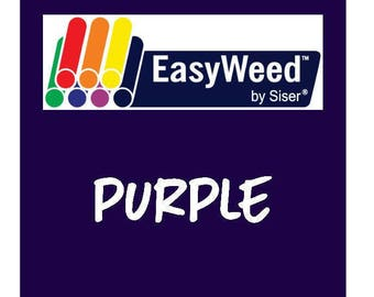 Siser EasyWeed Heat Transfer Vinyl - HTV - Purple