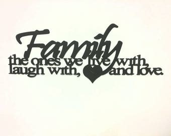 Family slogans,Phrases,metal wall hangings