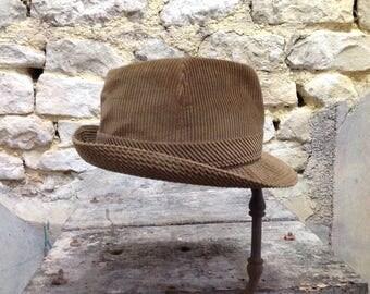 Corduroy - Paris Impercork Hat - old man Impercork Hat Hat-