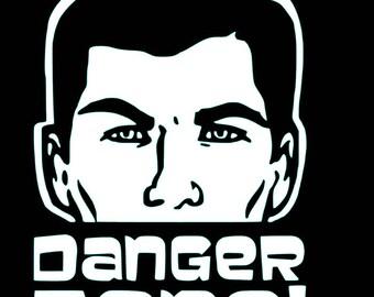 Archer - Danger Zone - Decal