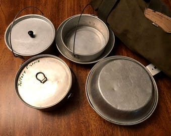Vintage 1960's Boy Scout Mess Kit