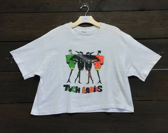 "Vintage 80s ""Touch Ladies"" Graphic Tee"