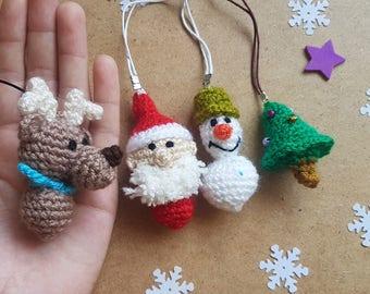 Christmas Crochet Etsy