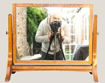 Vintage Swivel Dressing Table Mirror