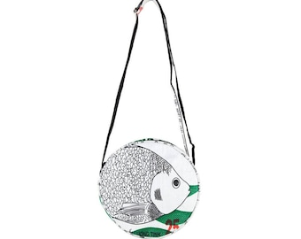 "Bag ""animal"" in cement sack-Small (-: fish white-green)"
