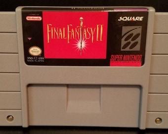 Final Fantasy 2 II FF2 FFII Custom English Super Nintendo SNES