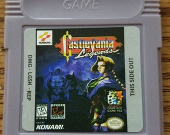 Castlevania Legends Game Boy Color GBC Custom English