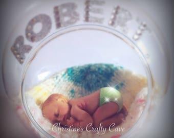 Bespoke baby bauble