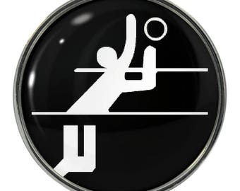 Volleyball Magnets Etsy - Custom sport car magnetsvolleyball car magnet custom magnets for volleyball players