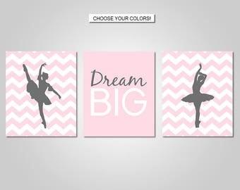 Ballet Wall Art - Ballet Bedroom Wall Decor - Dance Wall Decor - Prints - Canvas - Printable